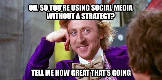 strategija na družbenih omrežjih